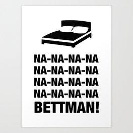 Bettman Art Print