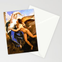 The Reunion of Cupid and Psyche Stationery Cards