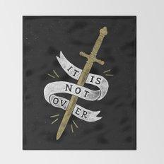 It Is Not Over Throw Blanket