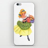 cinderella iPhone & iPod Skins featuring Cinderella by Celine Billy