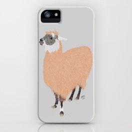 Daphne the Llama iPhone Case