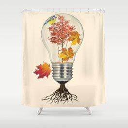 Fall (autumn) Shower Curtain