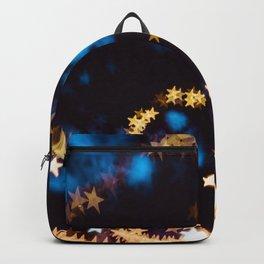 Starry Night Stars Bokeh Night Photography Backpack