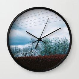Landscape Line Series Wall Clock