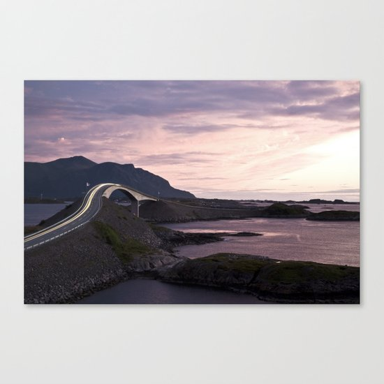 The Atlantic Road Canvas Print