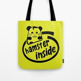 hamster inside Tote Bag