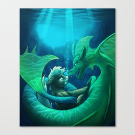 Siren's Song Canvas Print