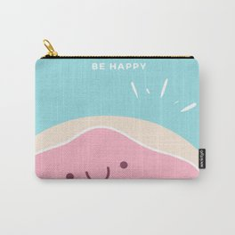Donut Worry Be Happy Carry-All Pouch
