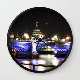 St pauls at night. Wall Clock