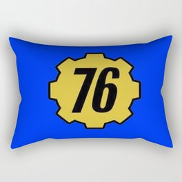 Vault 76 Rectangular Pillow
