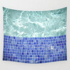 Pool Days Wall Tapestry