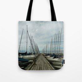 Malmo Harbour Tote Bag