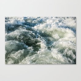 Choppy Water Canvas Print