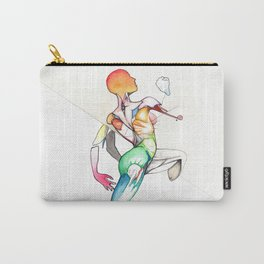 Truth or Aio, female nude dancer, NYC artist Carry-All Pouch