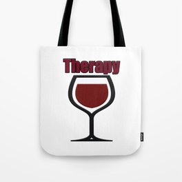 wine therapy Tote Bag