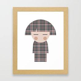 japan animation (kilt) Framed Art Print