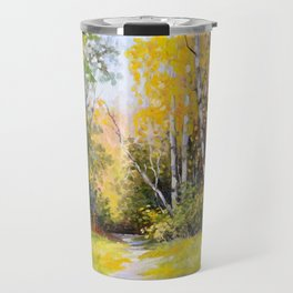 Birch Grove # 3 Travel Mug
