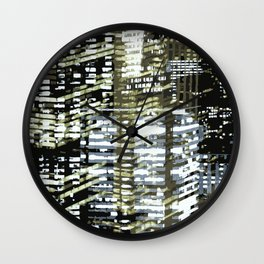 Night City 2 Wall Clock