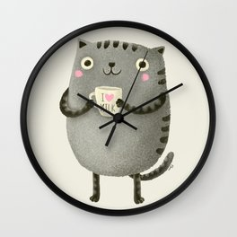 I♥milk Wall Clock