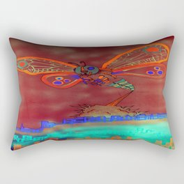 Bad Ash Mothra Funker Full (Wobblesauce) Rectangular Pillow
