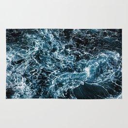 Wrath of the Dark Tempest Ocean Rug