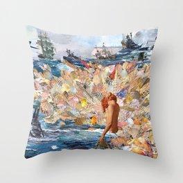 Song Of Lorelei Throw Pillow