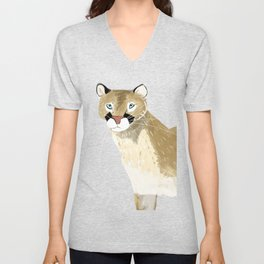 Caturday Puma Unisex V-Neck