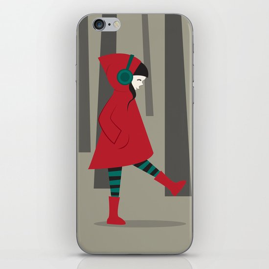 There is No Wolf iPhone & iPod Skin
