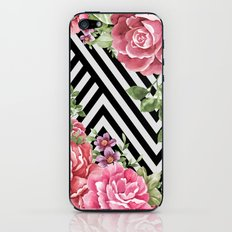 flowers geometric iPhone & iPod Skin