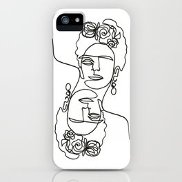 Frida Kahlo Double iPhone Case
