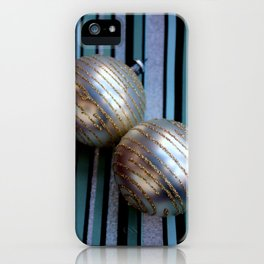 Worth Their Weight In A Gold Stripey Way iPhone Case
