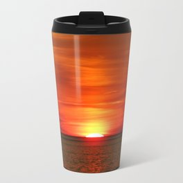 Sunset at Race Point  Travel Mug