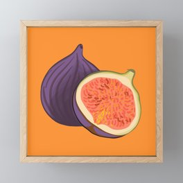 Fig Autumn Colour Trends  Framed Mini Art Print