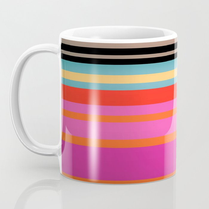Sunset Stripes Coffee Mug