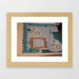 Heart desigb Framed Art Print