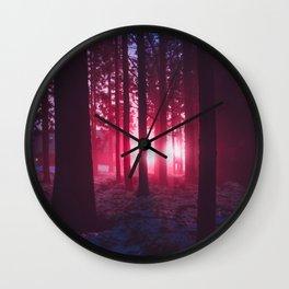 Mothership Has Landed Wall Clock