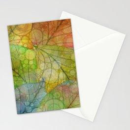 Autumn Rain Stationery Cards