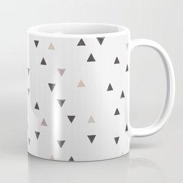 DOWN UP / scandi white / warm grey / flax / lavender Coffee Mug