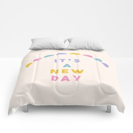 It's A New Day Comforters
