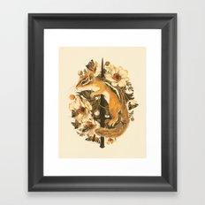Rites of Moth & Bloom Framed Art Print