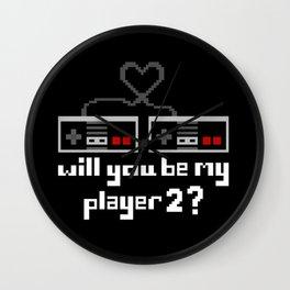 Player 2 Wall Clock