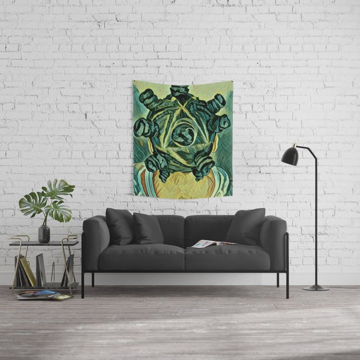 Chiney Bump Wall Tapestry