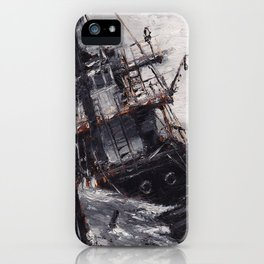 All Hands On Deck iPhone Case