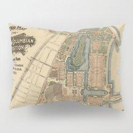 Chicago World Exposition 1893 Pillow Sham