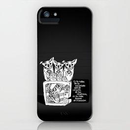 culpa iPhone Case