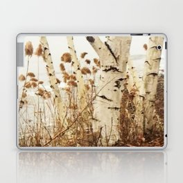 Autumn Birches by the Lake Laptop & iPad Skin