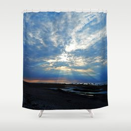 Parting of the Clouds Shower Curtain