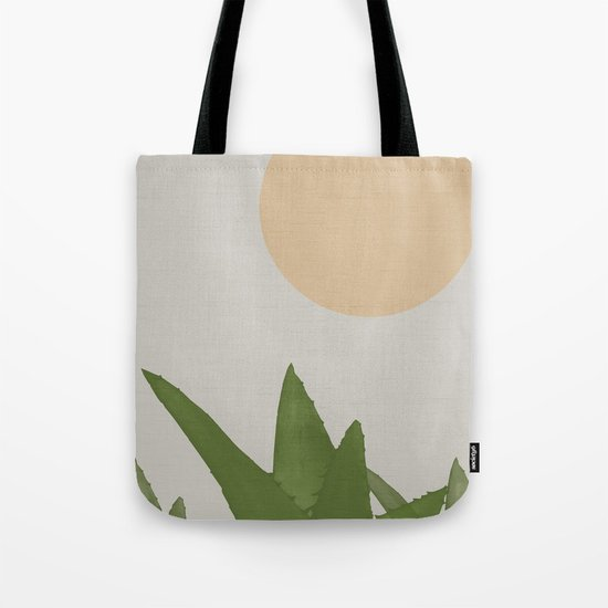 Aloe and moon Tote Bag