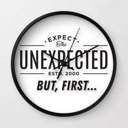 Big Brother Expect The Unexpected Wall Clock