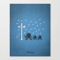 arctic monkeys Canvas Prints featuring ARCTIC MONKEYS. by Bandopoly